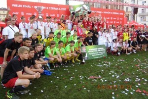 III miejsce Gimnazjalistów z Redy w COCA COLA CUP 2013
