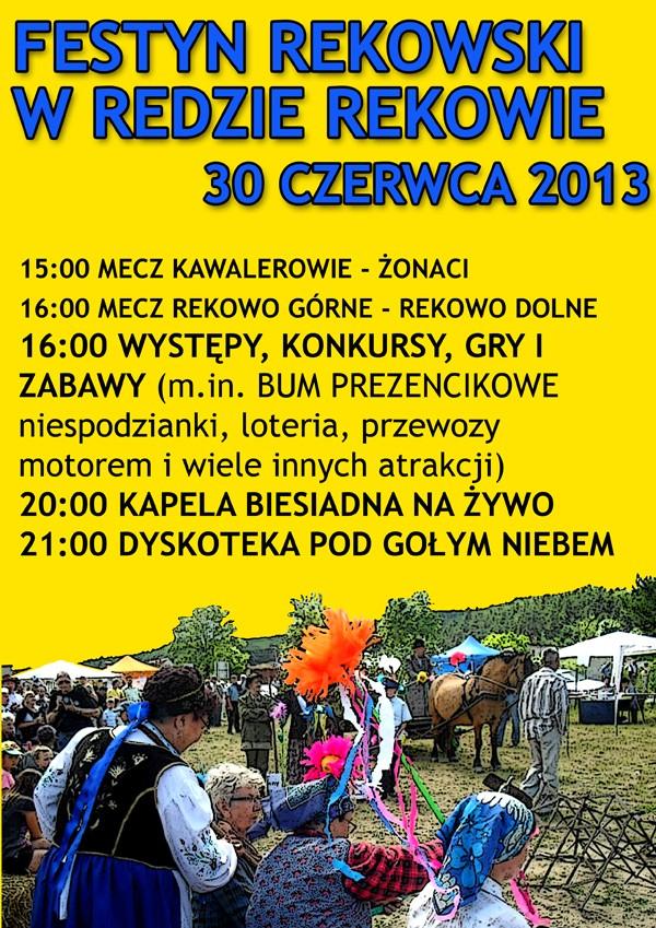 Festyn wRekowie