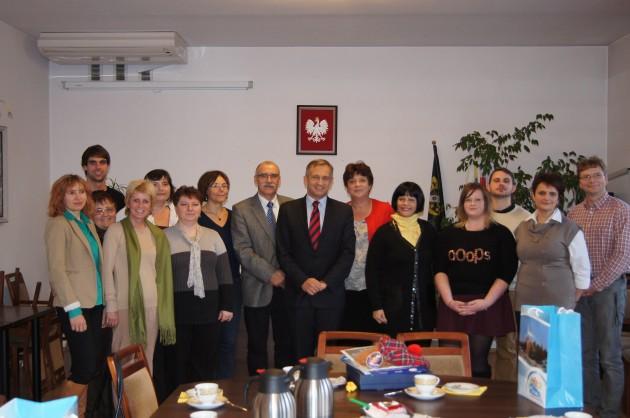 Międzynarodowy Ekologiczny Projekt Comeniusa wGimnazjum nr2 wRedzie