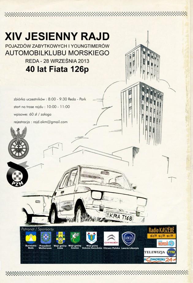 XIV Rajd Pojazdów Zabytkowych iYoungtimerów - Start 28 września wRedzie