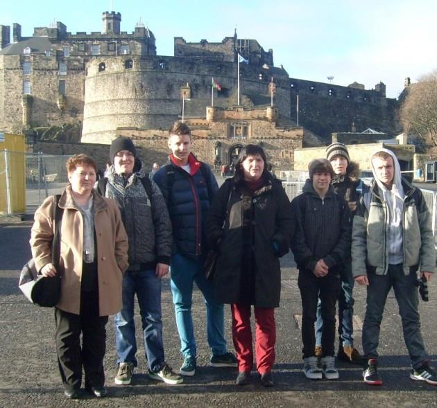 Uczniowie Gimnazjum nr2 wRedzie zwizytą wSzkocji