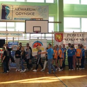 Otwarcie Mistrzostw Polski wPiłce Siatkowej Pracowników Samorządowych 24 IV 2014 r.