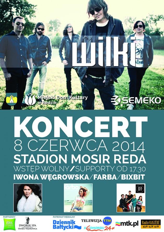 00KONCERT WILKOW PLAKAT REDA DR2014