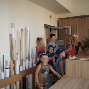 Wakacyjna wizyta dzieci wUrzędzie