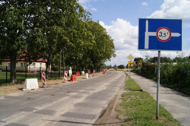 Uwaga- utrudnienia drogowe