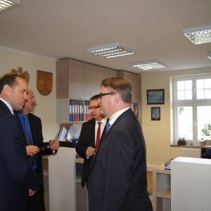 Wizyta Ministra Sprawiedliwości wUM Reda