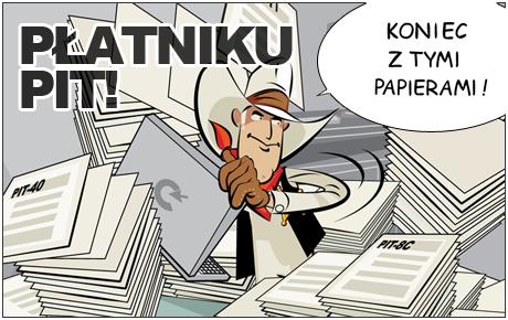 Płatniku PIT - koniec ztymi papierami