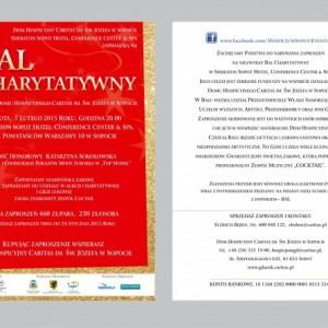 Zaproszenie naBal Charytatywny