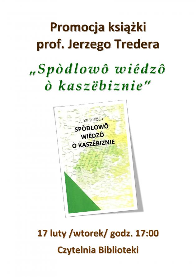 Promocja książki prof.Jerzego Tredera