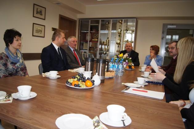 Spotkanie Zarządu Forum Przewodniczących
