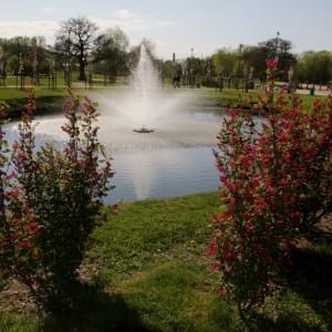 Popołudnie 3 Maja wMiejskim Parku Rodzinnym