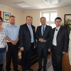 Delegacja zUkrainy wRedzie