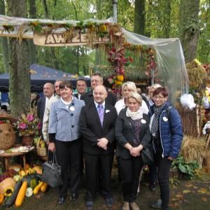 Delegacja redzkiego samorządu wpartnerskim Rejonie Wileńskim