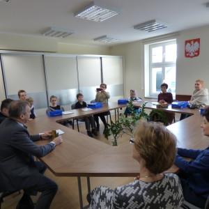 Wręczenie dyplomów burmistrza zakonkurs Ceramiony 2015