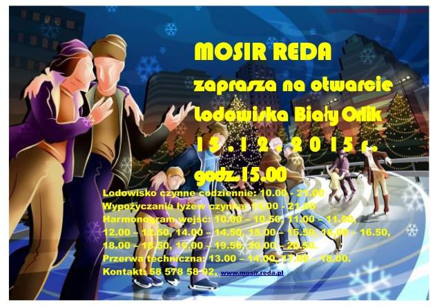 Plakat Lodowisko Orlik