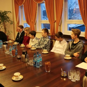 Posiedzenie Młodzieżowej Rady Miejskiej
