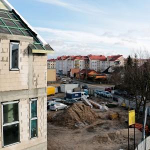 Wiecha nabudowie Urzędu Miasta wRedzie
