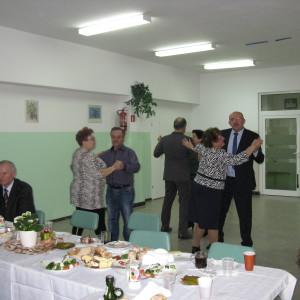 """Jubileusz Pani Marianny Stenka – odznaczonej wroku 2011 medalem """"Zasłużony dla Miasta Redy"""""""