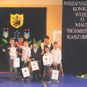 IMiędzyszkolny Konkurs Wiedzy oMałym Trójmieście Kaszubskim wSP nr2