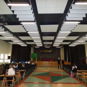 Aula wZespole Szkół nr1 wzupełnie nowej szacie
