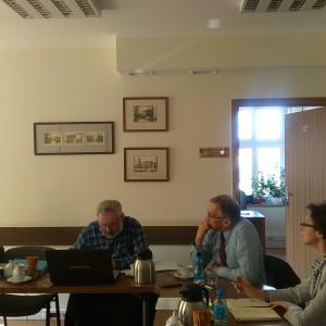 Spotkanie dot. funkcjonowania komunikacji miejskiej wRedzie