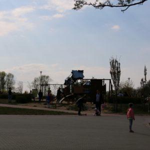Trzeciomajowe popołudnie wparku miejskim