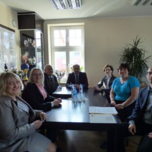 Podpisanie umowy narealizację gminnego programu zdrowotnego