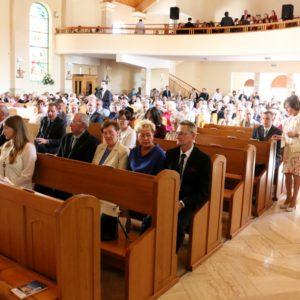 Konsekracja kościoła Św. Antoniego Padewskiego wRedzie