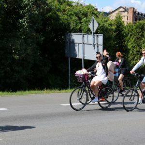 XX Wielki Przejazd Rowerowy – przejazd przezRedę