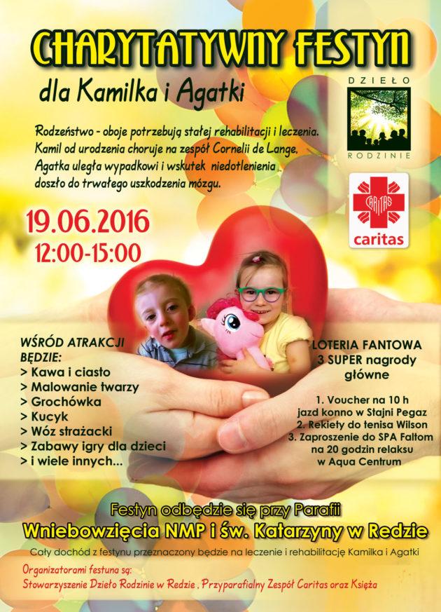 plakat A3 Kamil&Agatka festzn