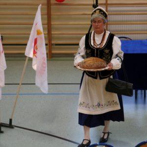 Powitania pielgrzymów wRedzie