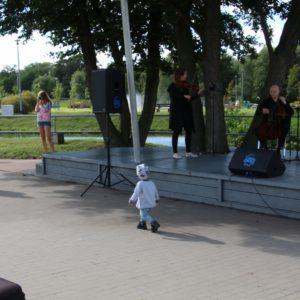 Buskers Quartet  wMiejskim Parku Rodzinnym