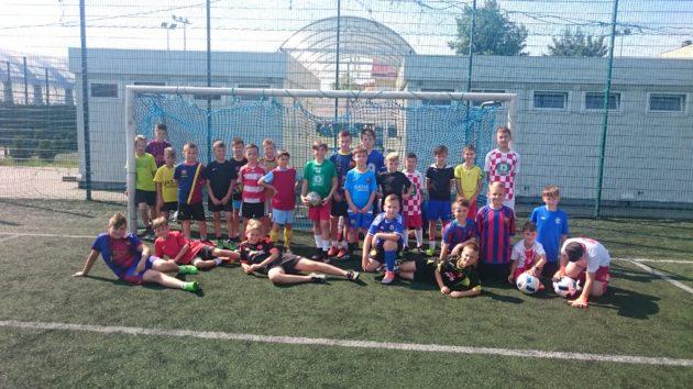 Uczestnicy turnieju Wkacyjna Liga Piłki Nożnej