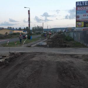 Przebudowa ul.Obwodowej – budowa ścieżki rowerowej-etap I