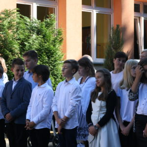 Inauguracja roku szkolnego wSzkole Podstawowej nr5
