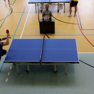 Ligowy mecz wtenisie stołowym