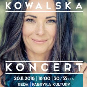 Koncert Kasi Kowalskiej wFabryce Kultury
