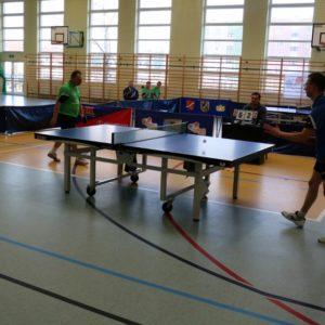 Decydujące mecze II ligi tenisa stołowego