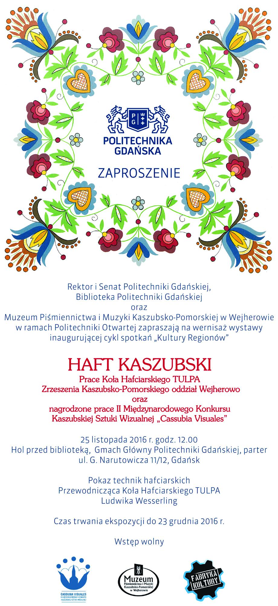 """Cassubia Visuales"" wBibliotece Politechniki Gdańskiej"