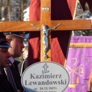 POŻEGNANIE DRUHA KAZIMIERZA LEWANDOWSKIEGO