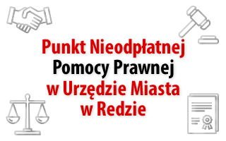 Punkt Nieodpłatnej Pomocy Prawnej w Urzędzie Miasta w Redzie