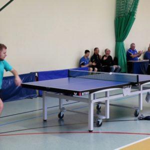Udany start tenisistów stołowych