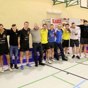 Tenisiści stołowi zkolejnym zwycięstwem