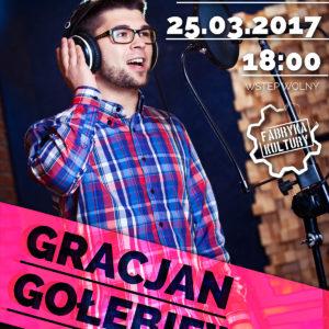 Koncert Gracjana Gołębiewskiego – Scena Młodych