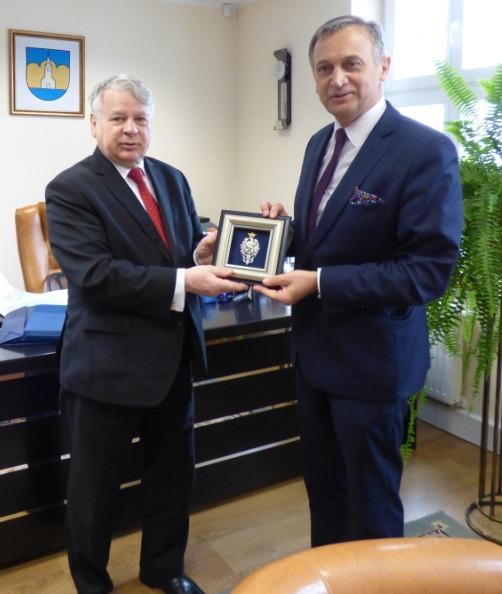 Wizyta Marszałka Bogdana Borusewicza