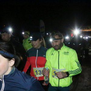 Pierwszy Nocny Bieg Parami zeŚwietlikami już zanami