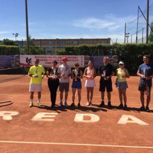 XXI Tenisowe Mistrzostwa Polski wRodzinnych Deblach iMikstach