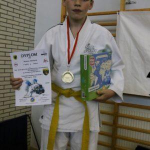 Udane walki  judoków SIMBA Reda wMistrzostwach Pomorza