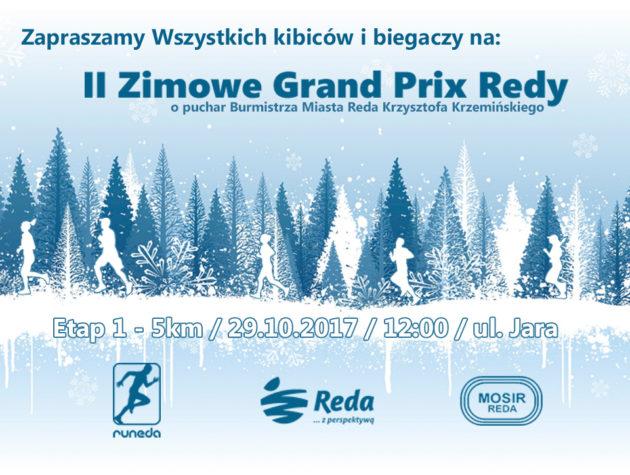 II Zimowe Grand Prix Redy – ZAPRASZAMY!