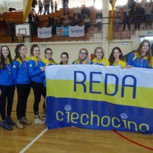 UKS Reda Ciechocino wćwierćfinale Mistrzostw Polski